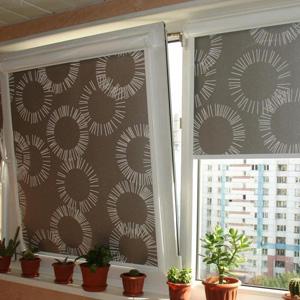 Рулонные шторы на пластиковые окна в самаре